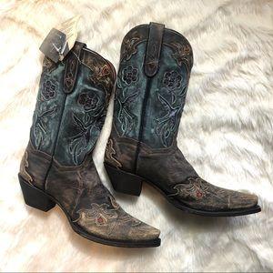 Dan Post | Distressed Cowboy Boots